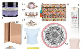 April Love and Lust list - While I'm Young and Skinny